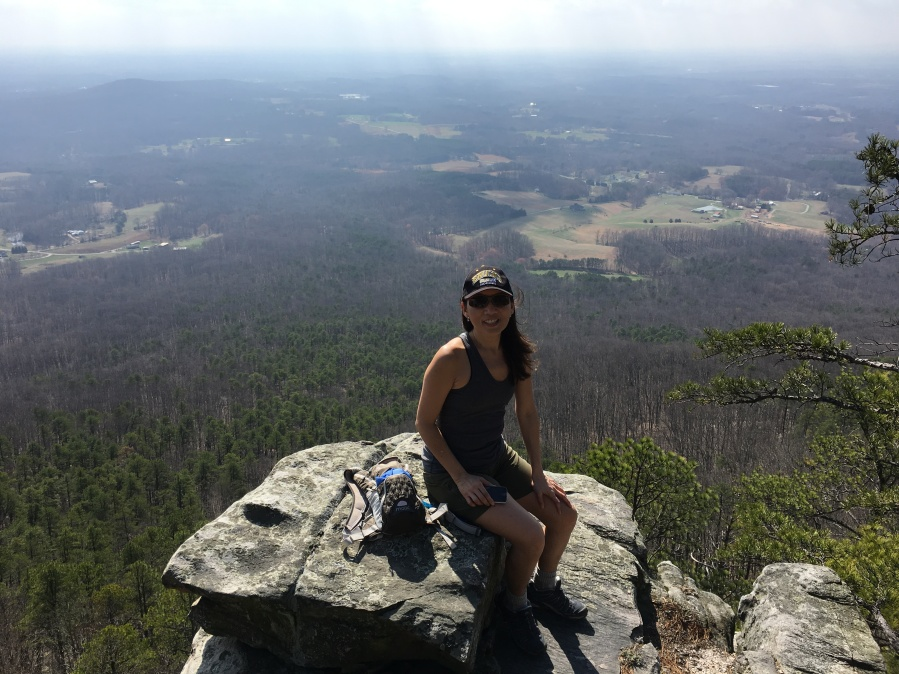 Pilot Mountain Hiking