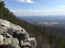 Pilot Mountain Hiking