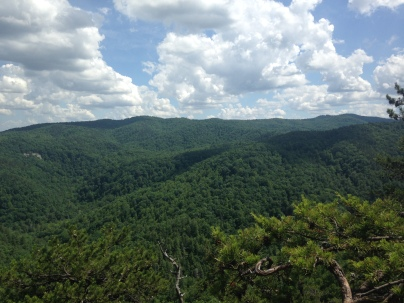 Chestnut Knob, South Mountains State Park, NC