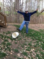 Brian Kicks Bucket/April 2018